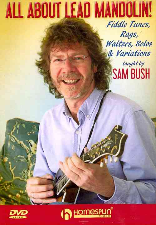 ALL ABOUT LEAD MANDOLIN BY BUSH,SAM (DVD)